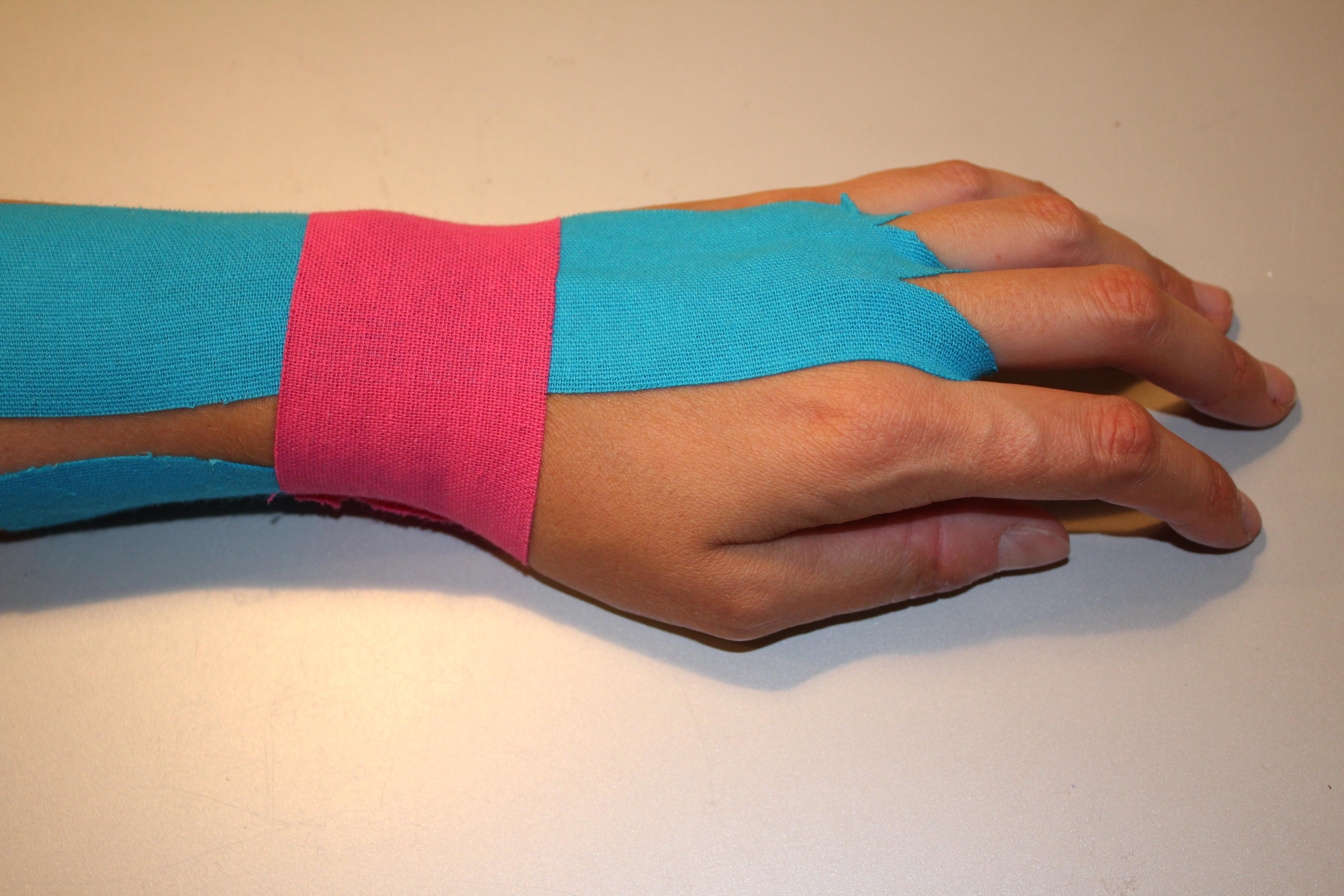 bandagieren mit oder ohne unterlage