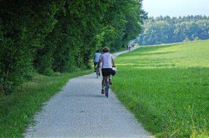 Radfahren für die Knie
